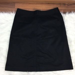 /banana republic/ a line stretch career skirt